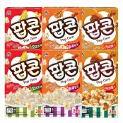 [사조대림]팝콘 90g 2박스*3세트,12봉지(오리지널,달콤한맛,카라멜맛) 이미지