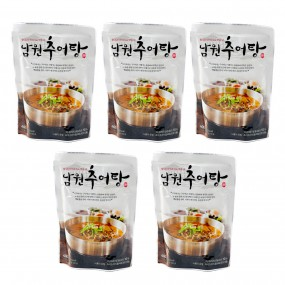 [농식품벤져스] 남원미꾸리 활미꾸라지로 맛을낸 남원추어탕 400g*5입/박스 무료배송! 이미지