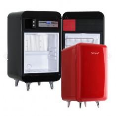 윈텍 윈세프 WINSEF 무소음 냉장금고 레트로냉장고 WC-40BS 블랙 이미지