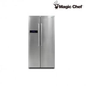 [매직쉐프] 양문형 냉장고 MESR-M689S_수도권 지역 외 배송비 10만원 추가 이미지
