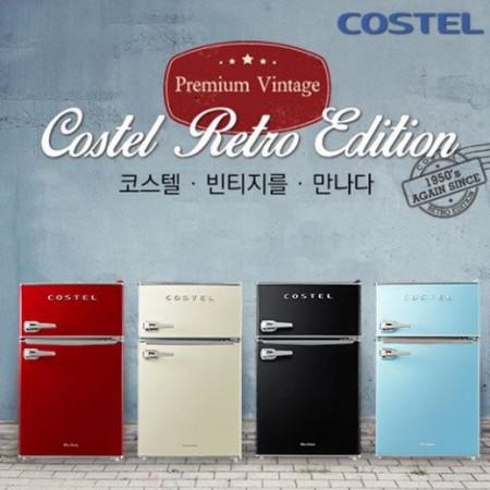 [COSTEL] 클래식 레트로냉장고 86L / CRS-86G