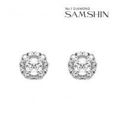 [삼신다이아몬드] 로세토 1부 다이아몬드 귀걸이 이미지