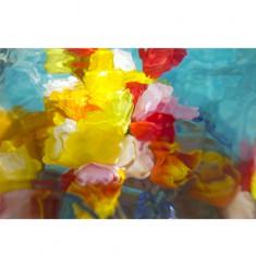 [갤러리 플로바리스] 프리미엄 플라워 캔버스 작품 - Flower Abstract 이미지
