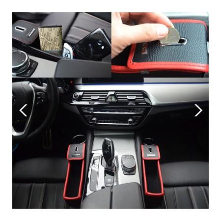 차량용 멀티 사이드  동전트레이 수납함/자동차 동전통 다용도 포켓