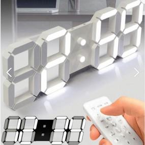 어바인 3D LED 벽시계 이미지