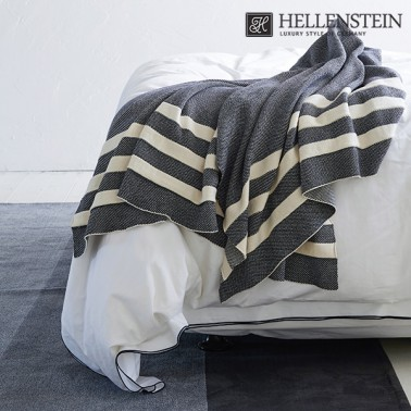 [헬렌스타인] 유럽형 세인트 라인 니트 블랭킷 담요(130*180) 이미지