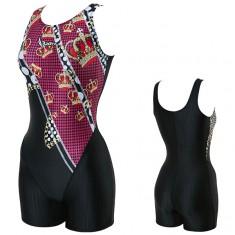 랠리 여성수영복 아쿠아로빅 3부 JSLH413 BLK 이미지