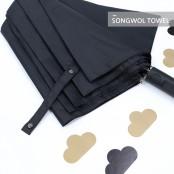 [송월우산]카운테스마라  2단 무지 반자동 우산 이미지