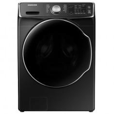 [삼성전자]버블샷 19kg 블랙 케비어 드럼세탁기[WF19R8600KV] 이미지