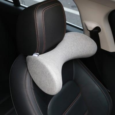 발상 넌자요쿠션 자동차 차량용 목꺽임방지 목받침 쿠션 헤드레스트 목베개