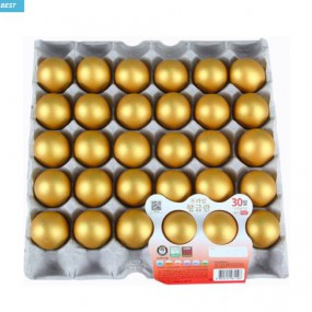 [황금란] 맥반석 황금란 30구 한판 <br> 무항생제 맥반석 달걀 이미지