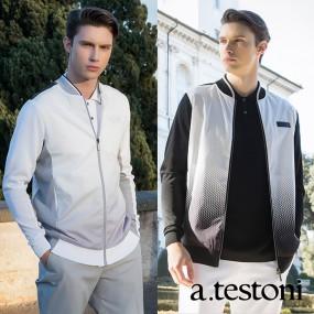 [a.testoni] 아테스토니 남성 스웨터 집업 2컬러 택일 AMKUSI01_02 이미지