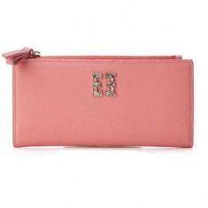 [에스콰이아] 여성 글리터 장지갑 핑크 이미지