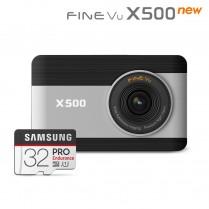 [파인뷰] X500 NEW 32GB  FHD/FHD 2채널 블랙박스 [아자몰 단독구성] ※상세페이지 확인 이미지