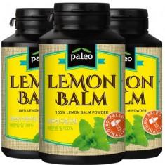 [팔레오] 레몬밤 추출분말가루 160g x 3통<br>(10배 농축, 로즈마린산 함유) 이미지