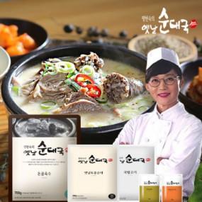 [팽현숙]옛날 순대국 총22인분(육수+옛날순대+국밥고기+양념장+들깨가루) 이미지