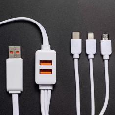 머레이 4IN1-USB 멀티 충전 포트케이블 이미지