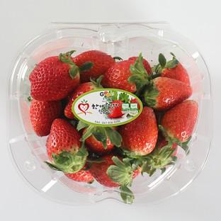 [한아름딸기] 유명산지 PICK상품! 산지직송 친환경 부여 한아름  설향딸기 상사이즈 2kg (500g*4팩/무료배송) 이미지