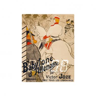 [LED CLOCK] Babylone d_Allemagne, 1894  명화 벽시계 이미지