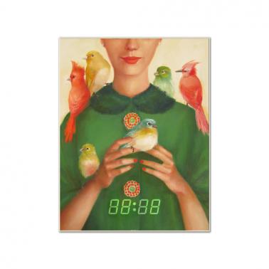 [WALL CLOCK] Ladybirds 명화 벽시계 이미지