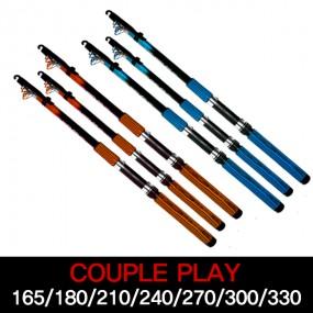 싸파 커플플레이 Couple Play 칼라 릴 낚시대-165,180,210,240,270,300,330/각 빨강,파랑 컬러낚시대/(옵션으로 컬러릴 또는 커플릴 선택구매) 이미지