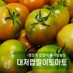 명장의  짭짤이, 과일친구 흙사랑농장 GAP짭짤이 토마토 1.5kg(무료배송) 이미지