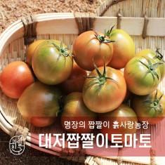 명장의  짭짤이, 과일친구 흙사랑농장 GAP짭짤이 토마토 2.5kg(무료배송) 이미지