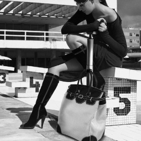 [MAFALDA DELLA SCALA] 마팔다델라스칼라 베네치아 컬렉션 tolley handbag(여행용가방) 이미지