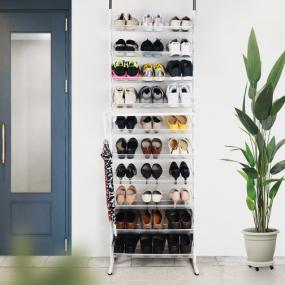 [노바리빙] 헹거형 10단 신발정리대 이미지