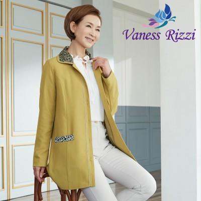 [바네사리찌] 레이스 배색 쉬폰 자켓