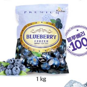 [푸드야] 냉동 블루베리 1kg 이미지