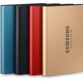 삼성전자 정품 T5 외장SSD 500GB 블루,레드,골드 A/S 3년 이미지