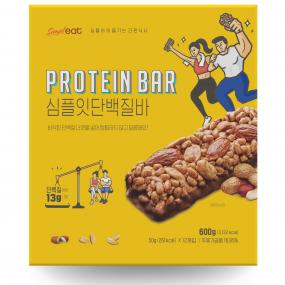 [심플잇]단백질바!! (50gx12개) 퀄리티와 맛보장!! 단백질이 무려 13g!!★★ 이미지