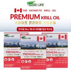캐나다 항공 직수입★홈쇼핑판매 & 면세점 브랜드!  프리미엄 크릴오일 3개월(인지질 56%이상, 아스타잔틴 990mg) 이미지