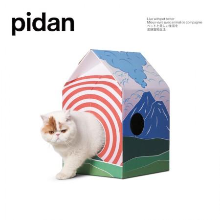 애묘용_피단 고양이 오두막 스크래쳐 이미지