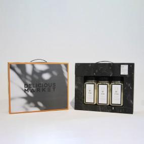 [추석PICK]딜리셔스마켓 블랙라벨 천연조미료3종선물세트(새우,멸치,다시마) 이미지