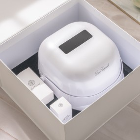 [리즈캡슐] 집에서 하는 손케어, 12분의 기적 LED 핸드 마스크(앰플 30ml 포함) 이미지