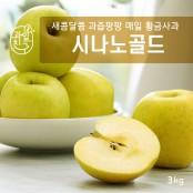 최고의 사과, 시나노,,그중의 최고,,,  과일친구 의성 시나노골드(황금사과) 3kg!!! 이미지