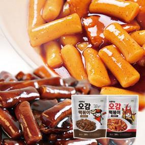 [DO449][로뎀]오감떡볶이 매운맛 1봉+짜장맛 1봉 이미지