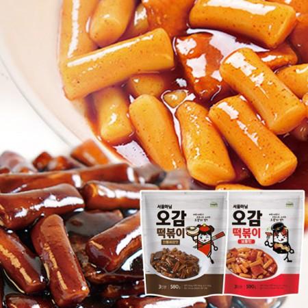 [DO447][로뎀]오감떡볶이 보통맛 1봉+짜장맛 1봉