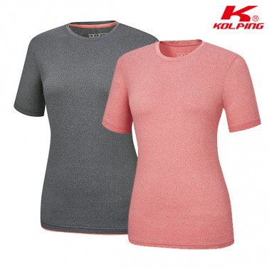 [콜핑] 기본 라운드 여름 티셔츠 복스피크II(여) KPT0534W 이미지