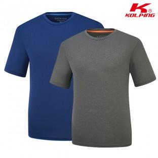 [콜핑] 기본 라운드 여름 티셔츠 복스피크II(남) KPT0534M 이미지