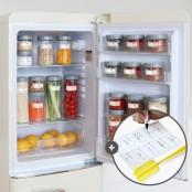 퓨어데일 냉장고 정리용기 10개세트(라벨,세척솔증정) 이미지