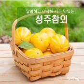 봄과함께~아삭달콤 과일친구 성주참외 2.5kg(10과내외) 이미지