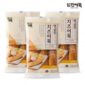 [삼진어묵] 탱글한 치즈어묵(고소한맛) 300g x 3개 이미지