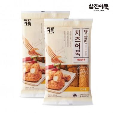 [삼진어묵] 탱글한 치즈어묵(매콤한맛) 300g x 2개 이미지