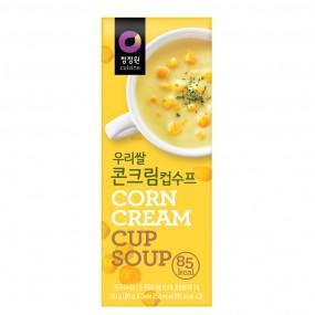 [아자마트] [청정원] 우리쌀 컵수프 콘크림 60g 이미지