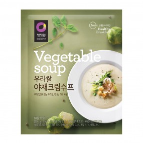 [아자마트] [청정원] 우리쌀 야채크림수프 60g 이미지