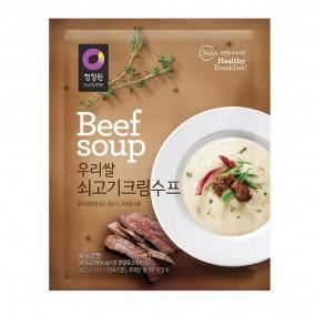 [아자마트] [청정원] 우리쌀 쇠고기 크림수프 60g 이미지