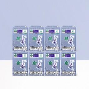 [유기농본] 생리대 울트라 슬림 오버나이트 10P X 8팩 무료배송! 이미지